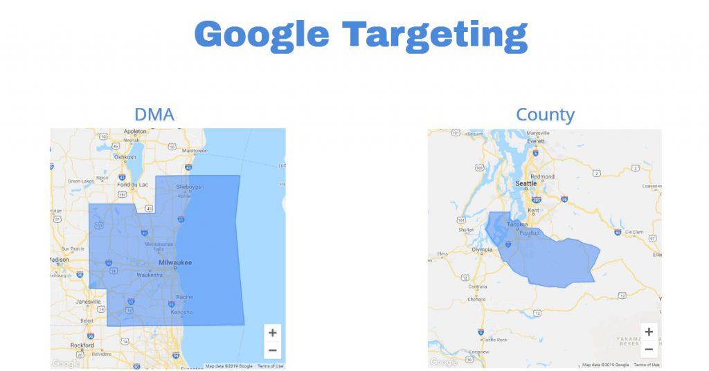 google ppc targeting